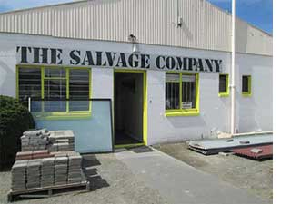 the salvage company entrance